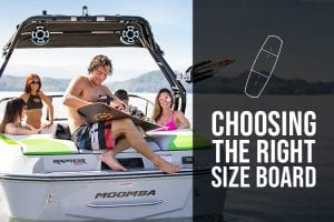 Choosing the Right Size Wakeboard & Wakesurf Board