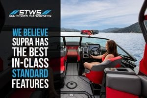Supra Has The Best In Class Wake/Surf Boat Standard Features