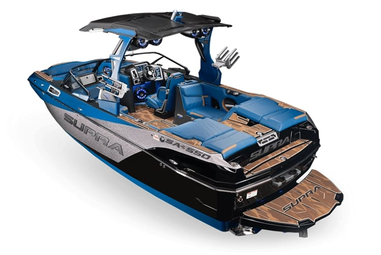 Supra Boats has tons of Premium Standard Features