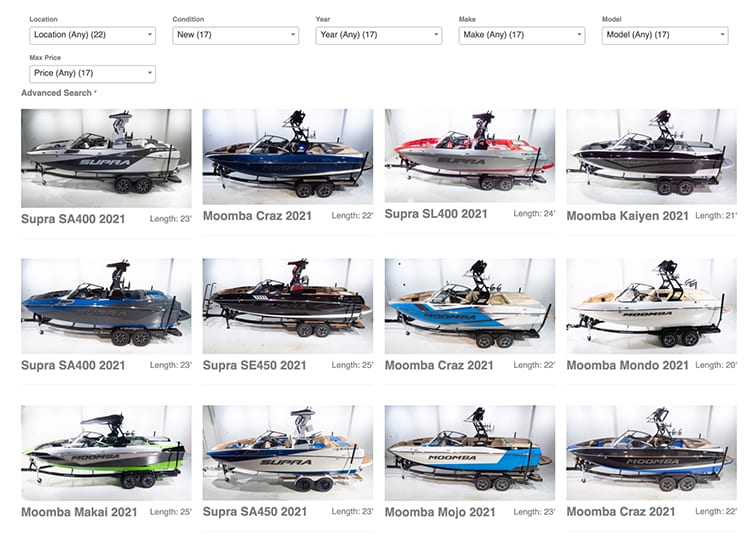 Conviently Browse Our Complete Inventory from Anywhere