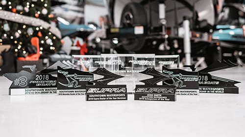 Supra & Moomba Boats Dealership Awards